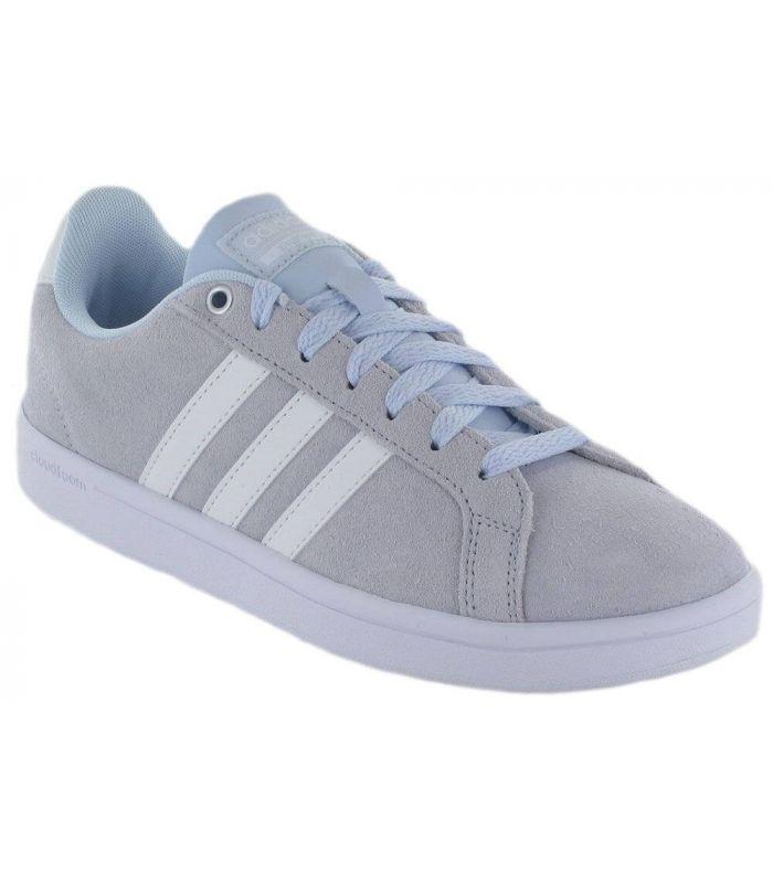 Adidas Cloudfoam Advantage Aero Blue Adidas Calzado Casual Mujer Lifestyle Tallas: 38 2/3, 38; Color: azul