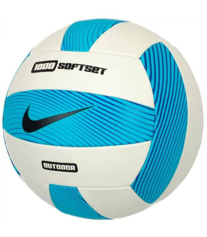 Nike ballon de Volley-ball 1000 SOFTSET Bleu