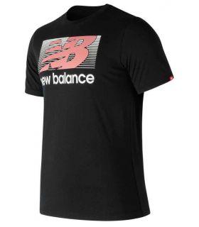 New Balance Danny Negro New Balance Camisetas Lifestyle Lifestyle Tallas: m, l; Color: negro