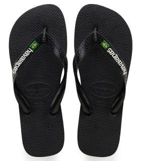 Havaianas Brasil Logo Negro Tienda Sandalias / Chancletas