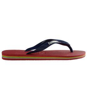 Havaianas Brasil Logo Rojo - Shop Sandals / Flip-Flops Man