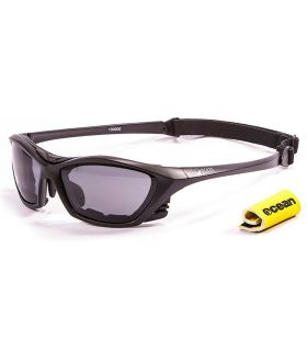 Ocean Lake Garda Mate Black / Smoke - Gafas de sol Running - Ocean Sunglasses negro