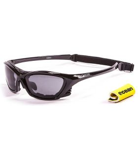 Ocean Lake Garda Shiny Black / Smoke - Gafas de sol Running - Ocean Sunglasses negro