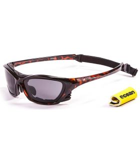 Gafas de sol Running - Ocean Lake Garda Shiny Brown / Smoke marron Running