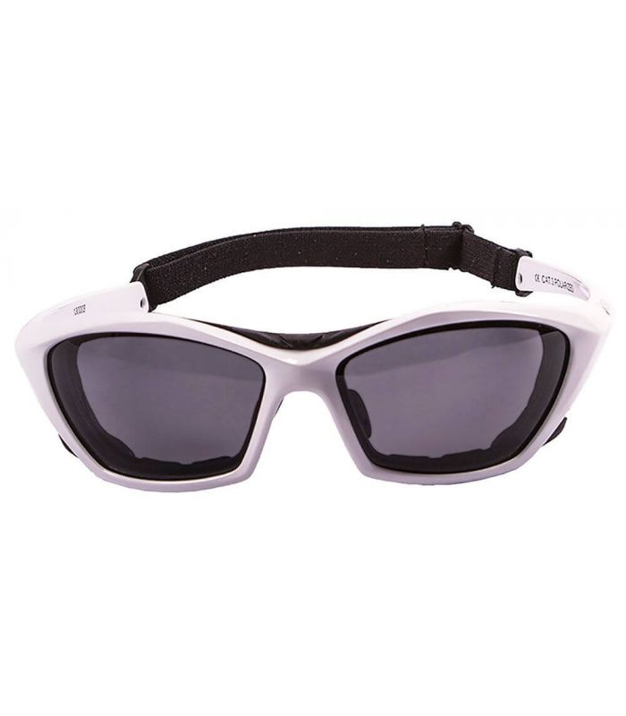 Gafas de sol Running - Ocean Lake Garda Shiny White / Smoke blanco Running