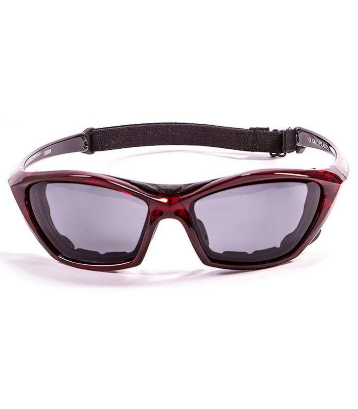 Gafas de sol Running - Ocean Lake Garda Shiny Red / Smoke rojo Running
