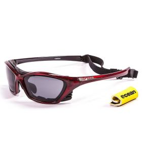 Ocean Lake Garda Shiny Red / Smoke - Gafas de sol Running - Ocean Sunglasses rojo