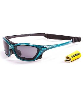 Gafas de sol Running - Ocean Lake Garda Shiny Blue / Smoke azul Running