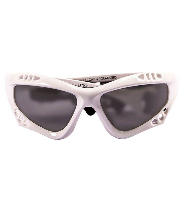 Ocean Australia Shiny White / Smoke - Sunglasses Running