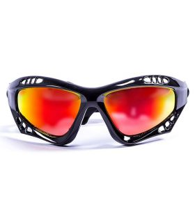 Ocean Australia Shiny Black / Revo - Sunglasses Running