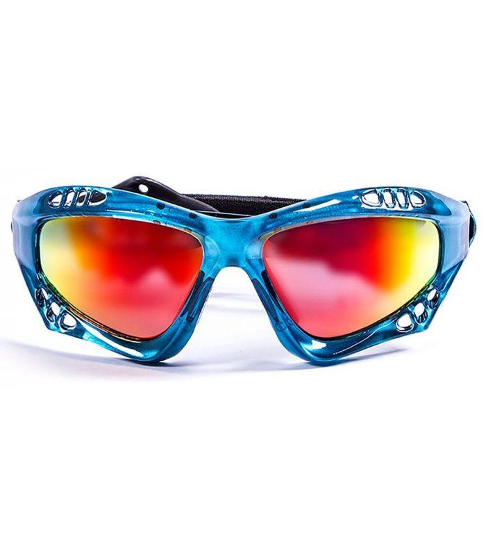 Ocean Australia Shiny Blue / Revo - Sunglasses Running