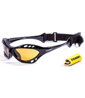 Ocean Cumbuco Shiny Black / Yellow Gafas de sol Running Running