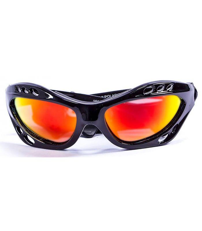 Gafas de sol Running - Ocean Cumbuco Shiny Black / Revo negro Running