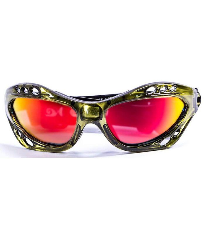 Gafas de sol Running - Ocean Cumbuco Shiny Green / Revo verde Running
