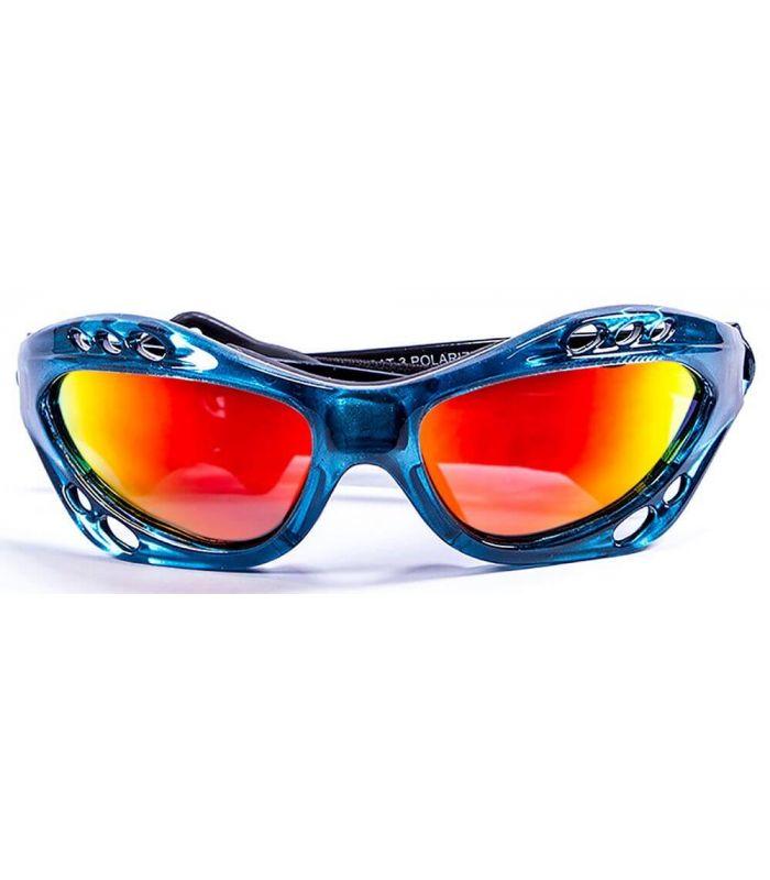 Ocean Cumbuco Shiny Blue / Revo - Sunglasses Running