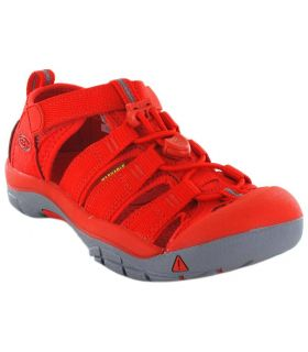 Keen Junior Newport H2 Firey Red - Tienda Sandalias / Chancletas Junior - Keen rojo 31