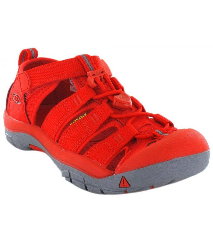 Keen Junior Newport H2 Firey Red