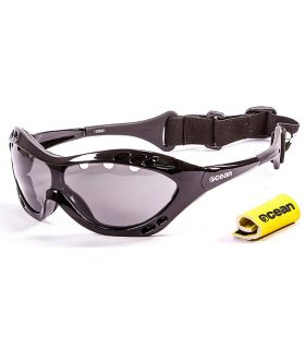 Ocean Costa Rica Shiny Black / Smoke - Sunglasses Running