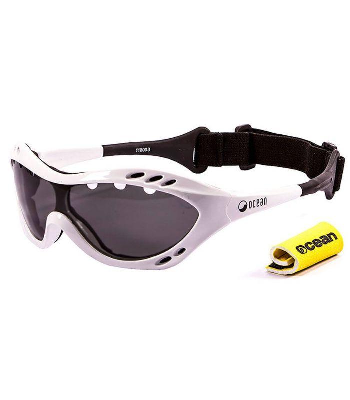 Gafas de sol Running - Ocean Costa Rica Shiny White / Smoke blanco Running