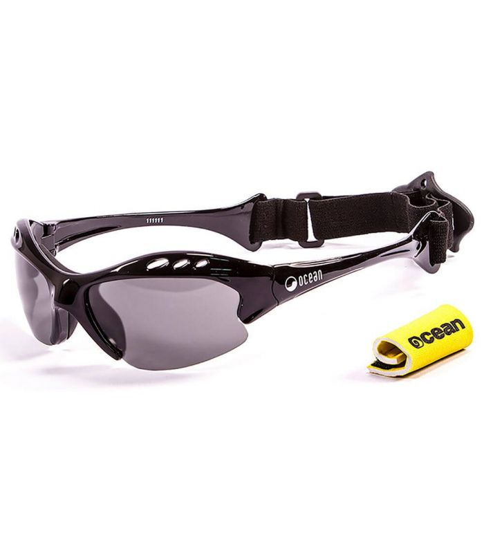 Ocean Mauricio Shiny Black / Smoke - Sunglasses Running
