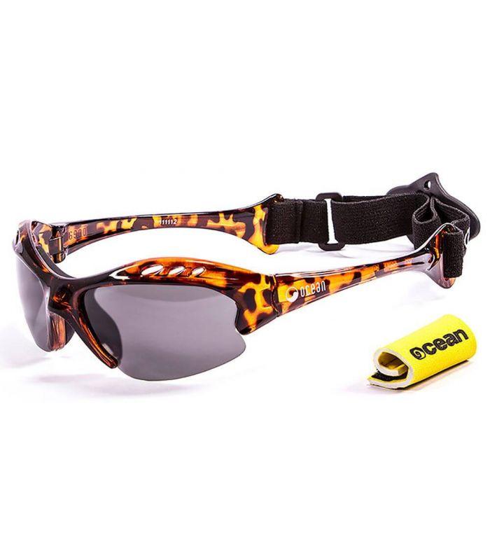 Ocean Mauricio Shiny Brown / Smoke - Sunglasses Running