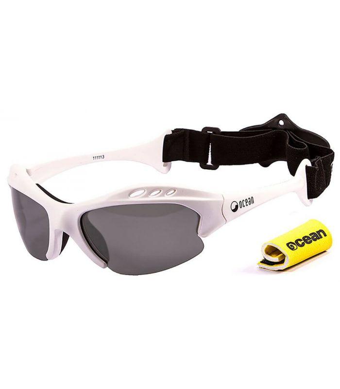Gafas de sol Running - Ocean Mauricio Shiny White / Smoke blanco Running
