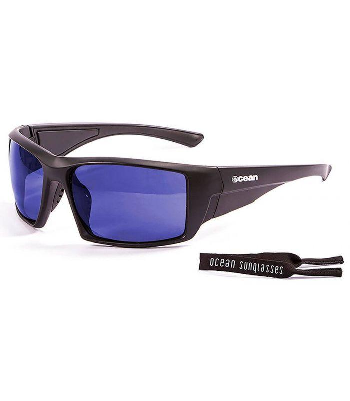 Ocean Aruba Matte Black / Revo Blue - Running sunglasses