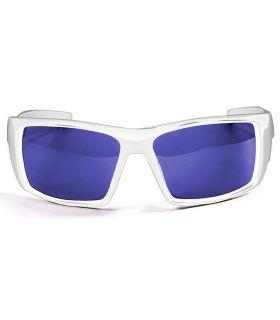 Ocean Aruba Shiny White / Revo Blue Ocean Sunglasses Gafas de sol Running Running Color: blanco