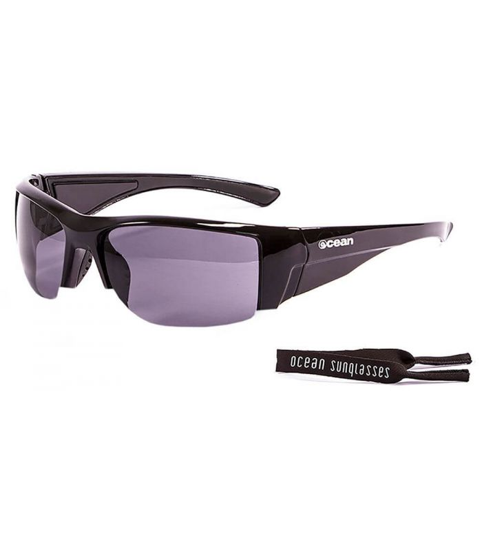 Ocean Guadalupe Shiny Black / Smoke - Sunglasses Running