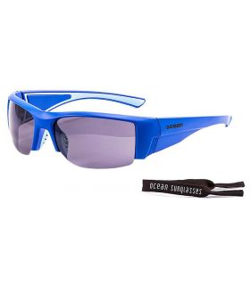Ocean Guadalupe Mate Blue / Smoke - Sunglasses Running