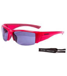 Ocean Guadalupe Matte Red / Smoke - Sunglasses Running