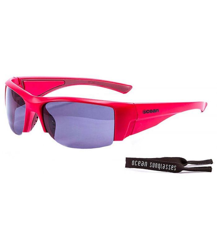 Ocean Guadalupe Matte Red / Smoke - Running sunglasses