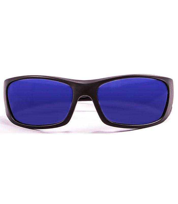 Ocean Bermuda Matte Black / Revo Blue - Running sunglasses