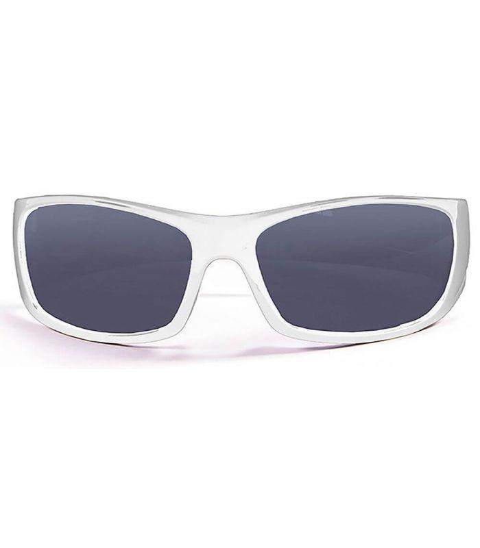 Ocean Bermuda Shiny White / Smoke - Sunglasses Running