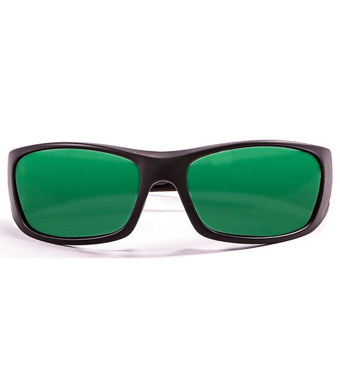 L'Océan Bermuda Noir Mat / Revo Vert - Lunettes De Soleil De
