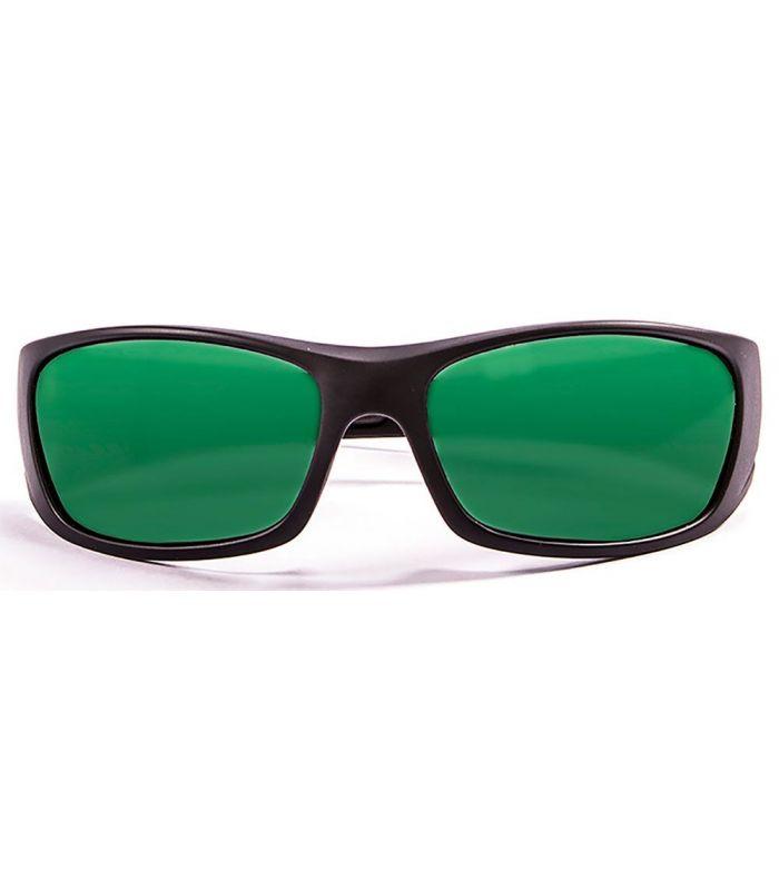 Gafas de sol Running - Ocean Bermuda Mate Black / Revo Green negro Running
