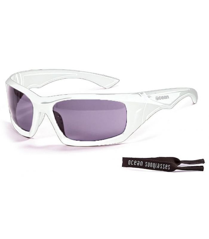 Ocean Antigua Shinny White / Smoke Gafas de sol Running Running