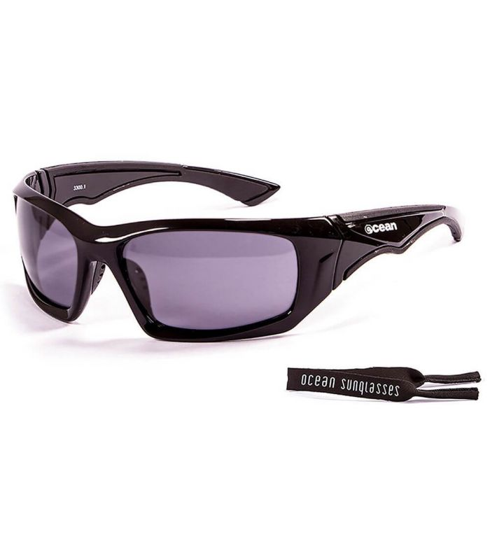 Ocean Antigua Shinny Black / Smoke - Gafas de sol Running - Ocean Sunglasses negro