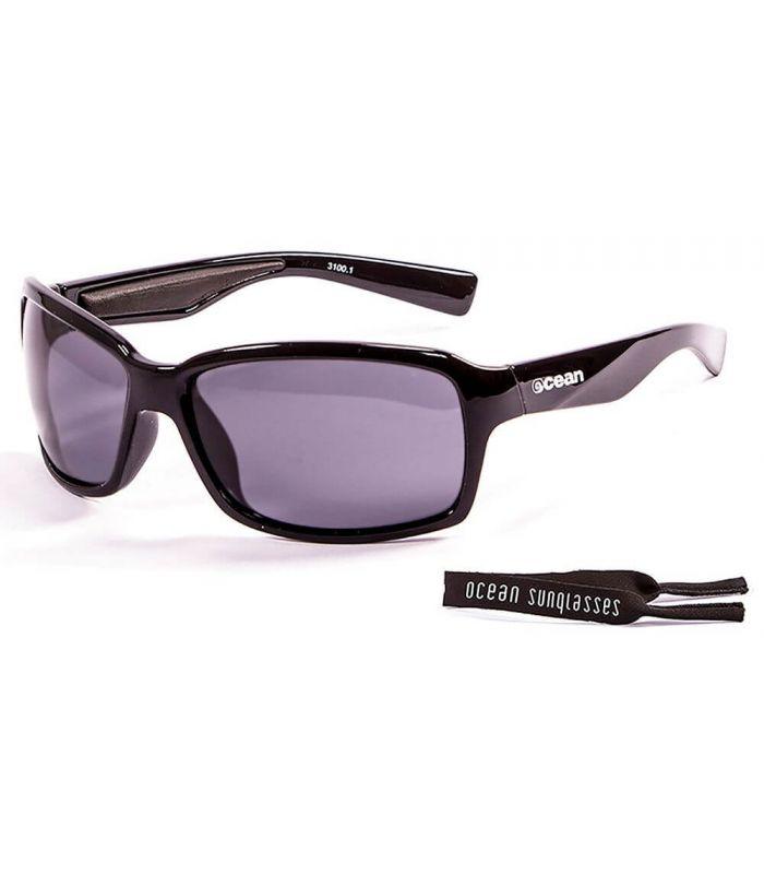 Ocean Venezia Shiny Black / Smoke - Sunglasses Running