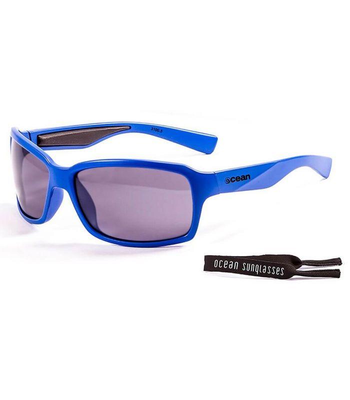 Ocean Venezia Shiny Blue / Smoke - Sunglasses Running