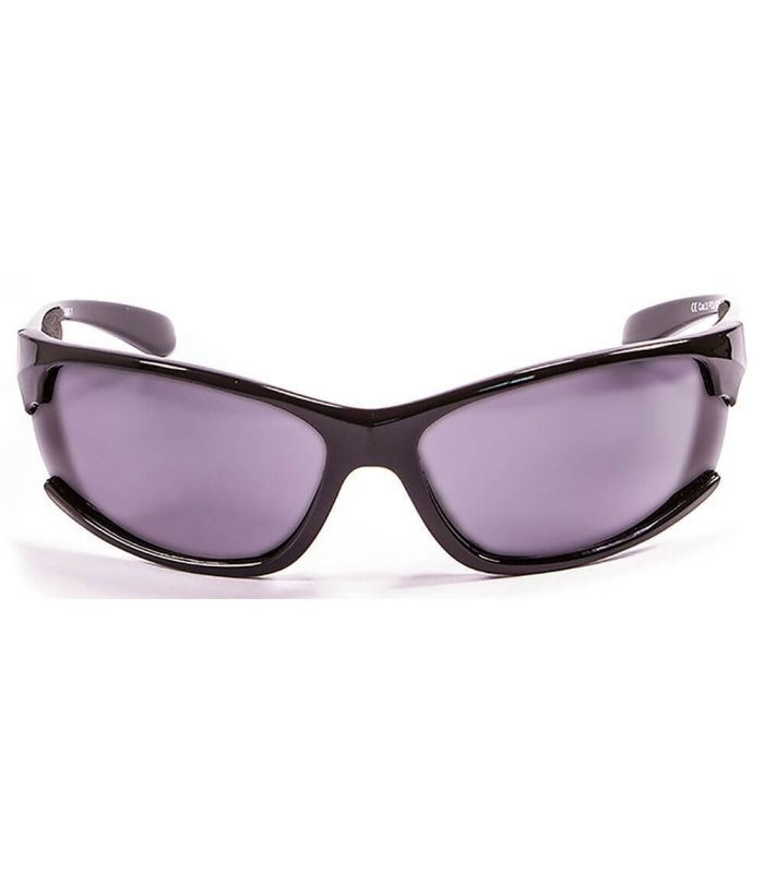 Ocean Cyprus Shiny Black / Smoke - Sunglasses Running