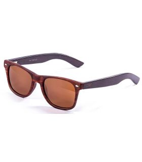 Ocean Beach Wood 50010.3 Ocean Sunglasses Gafas de Sol Lifestyle Lifestyle Color: marron
