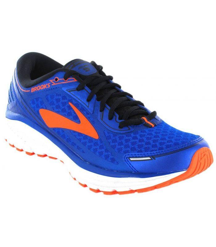 Brooks Aduro 5 Bleu - Chaussures de Running Man