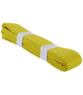 Cinturon Artes Marciales Amarillo BoxeoArea Cinturones karate Karate Tallas: 180 cm, 240 cm, 300 cm
