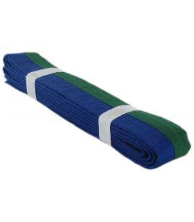 Gürtel Kampfsport Grün Blau