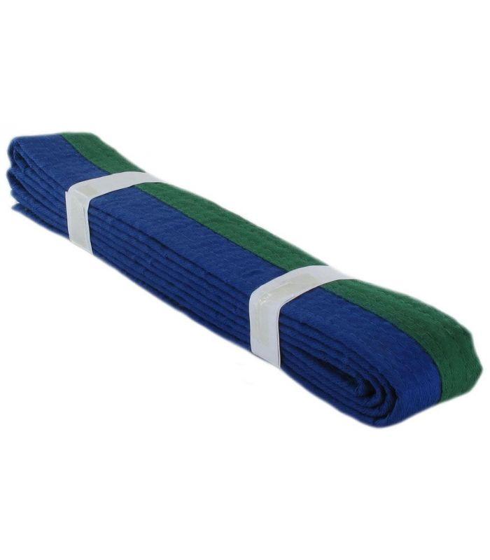 Cinturones karate - Cinturon Artes Marciales Verde Azul Karate