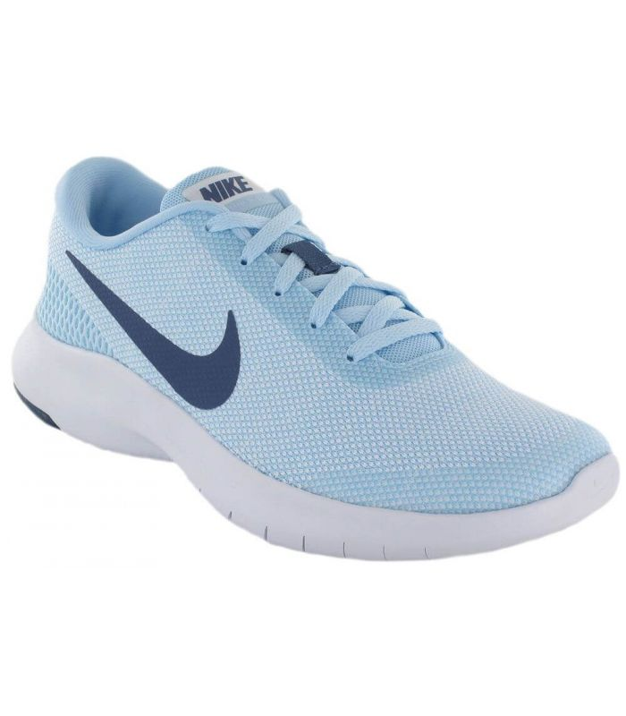 zapatillas mujer azules nike