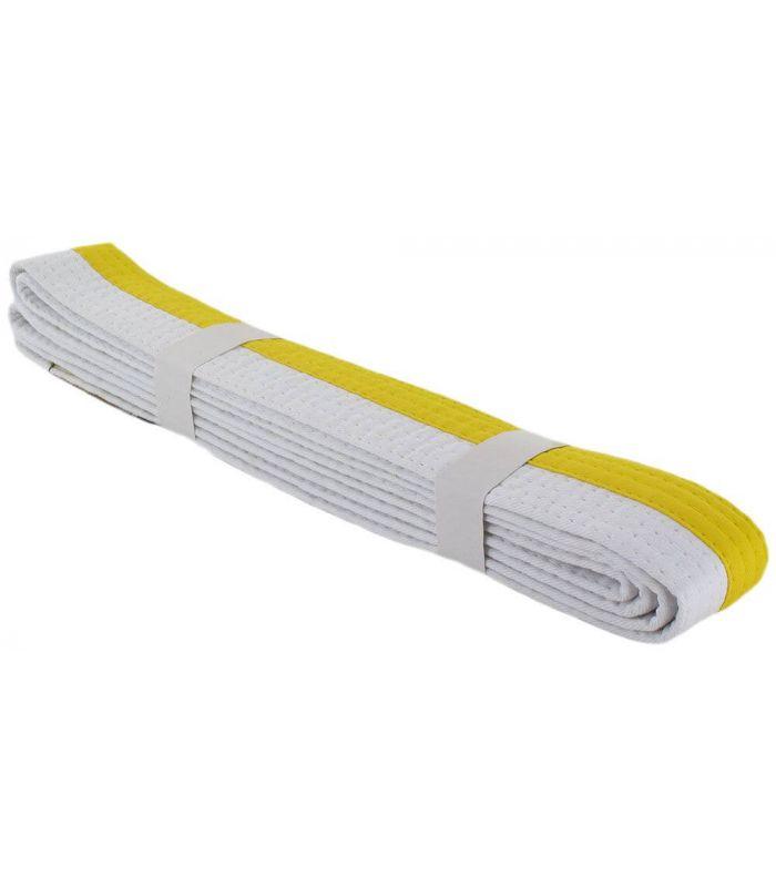 Cinturones karate - Cinturon Artes Marciales Blanco Amarillo Karate