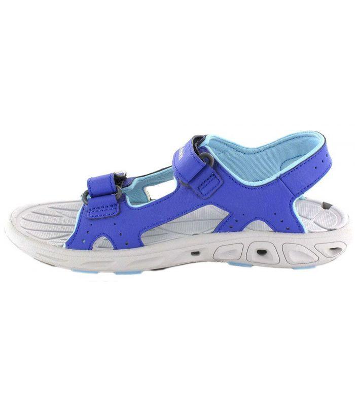 Tienda Sandalias / Chancletas Junior - Columbia Techsun Vent Jr Purple azul Sandalias / Chancletas