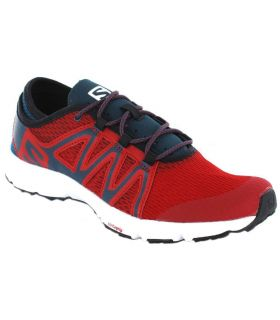 Salomon Crossamphibian Swift Salomon Zapatillas Running Hombre Zapatillas Running Tallas: 44, 44 2/3, 43; Color: rojo